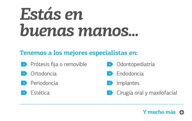 Especialidades Dentales - Clínica Dental Palmaplanas